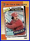 1990 Topps #662 Mike Schmidt HOF PHILADELPHIA PHILLIES Turn Back the Clock