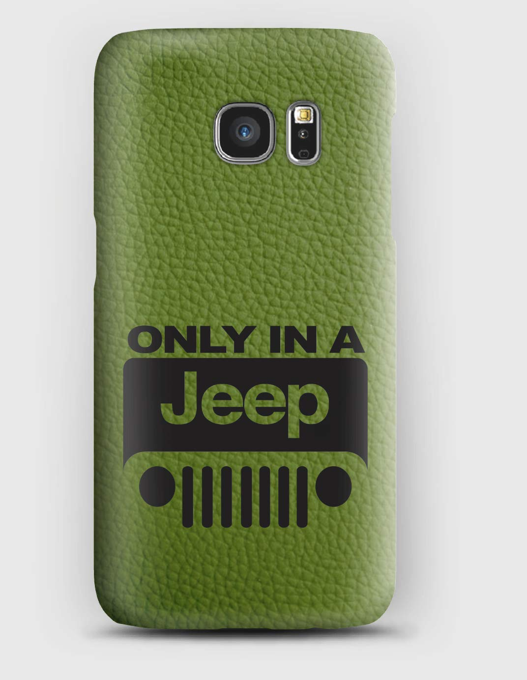 Funda para el Samsung S3, S4, S5, S6, S7, S8, A3, A5, A7, J3, Only in a Jeep
