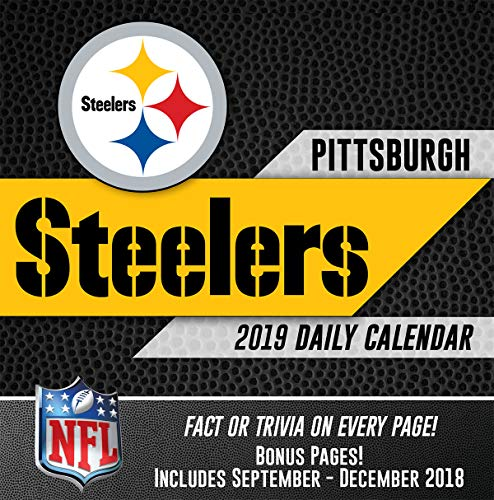 (Turner Licensing Pittsburgh Steelers 2019 Box Calendar (19998051451))