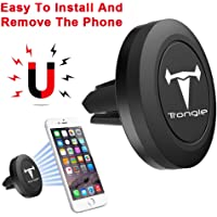 Wesho Magnetic Car Phone Holder, Magnetic Air Vent Phone Holder Car Cradle for iPhone XS/XR/X 8 Plus 7 6 6 Plus 5 Huawei P9 LG Sony Samsung S7 S6 Note and Other Phones