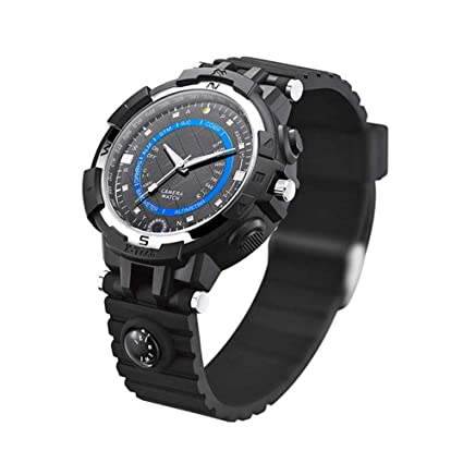 Reloj Inteligente Goodbenemall FOX8 de visión Nocturna, Reloj Inteligente 16 GB RAM Linterna Reloj de