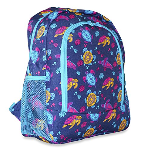 School Backpack (Color Back Sea Turtle)