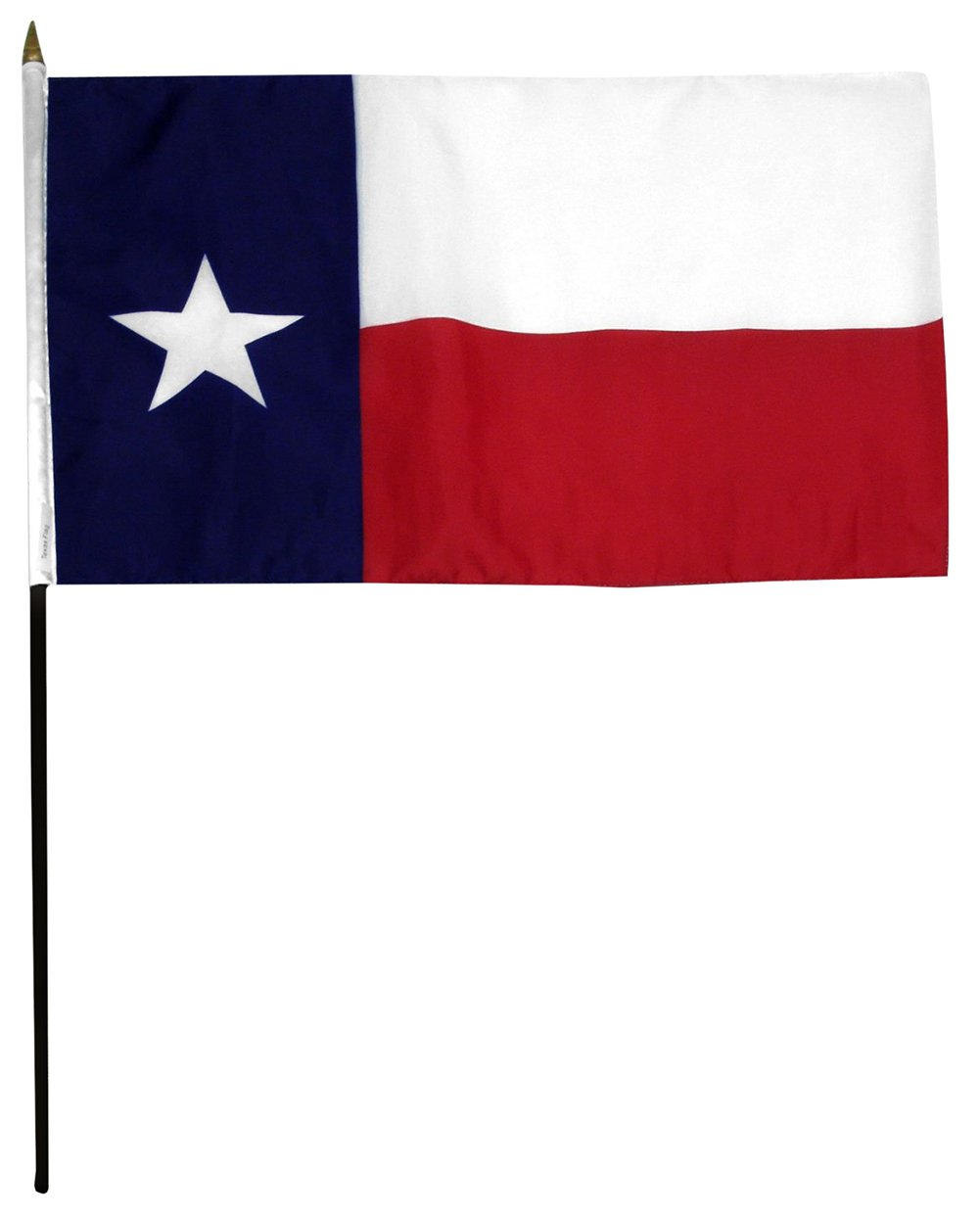 4x6 Inch Texas State Flag