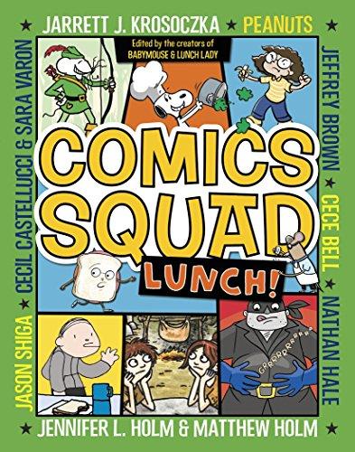 Comics Squad #2: Lunch! -