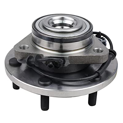 CRS NT515066 New Wheel Bearing Hub Assembly, Front Driver (Left)/ Passenger (Right), for 2004-2007 INFINITY QX56, 2004-2007 NISSAN TITAN/ARMADA/PATHFINDER ARMADA, 2WD/ 4WD: Automotive