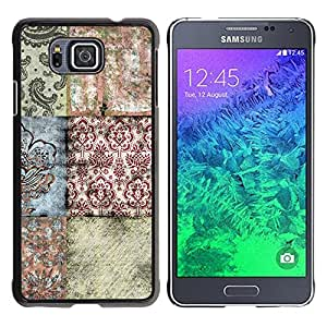 - Butterfly Design - - Fashion Dream Catcher Design Hard Plastic Protective Case Cover FOR Samsung ALPHA G850 Retro Candy