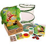 Butterfly Garden Gift Set with Live Cup of Caterpillars