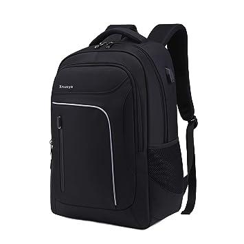 """b8e0e2eac6 Xnuoyo 17.3"""" Sac à Dos Ordinateur Portable pour 12-17 Pouces Ordinateur,  Imperméable"""