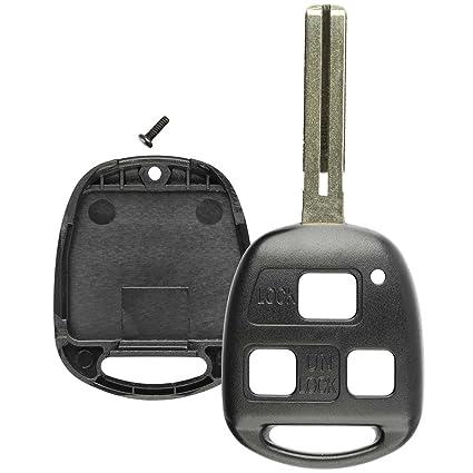 Lexus Key Fob Replacement >> Amazon Com Lexus Replacement Key Fob Shell 2pcs Lexus 3