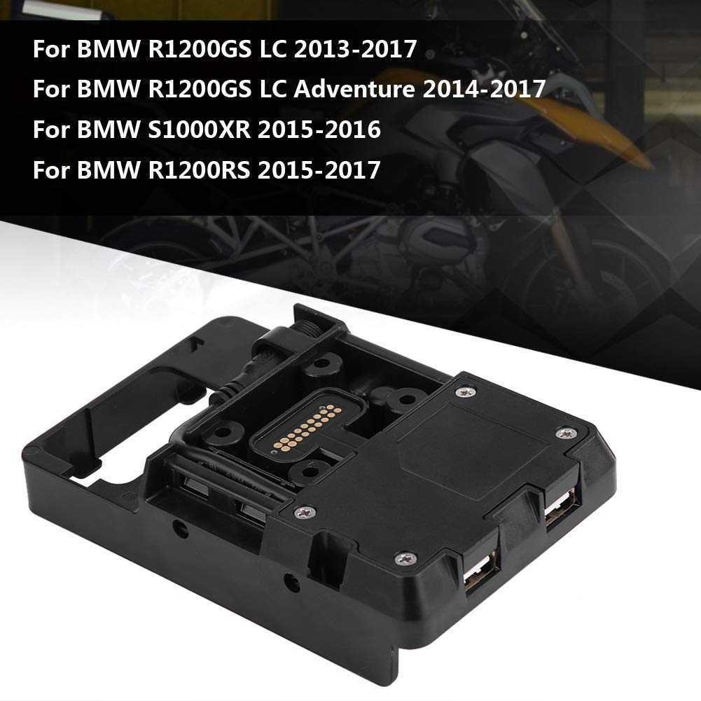 Mobile Phone Holder Stand Bracket with USB Charger for BMW R1200GS LC Adventure S1000XR R1200RS Keenso 4351512385