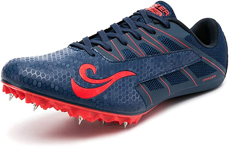 iFRich Track Spikes Shoes Mens Womens