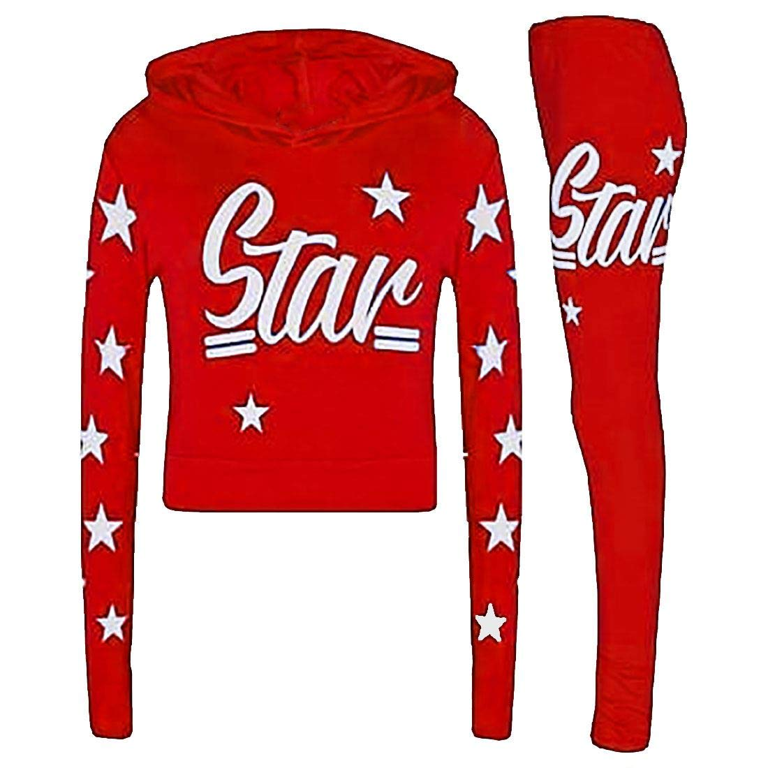 Rimi Hanger Children Fancy Star Printed Jogging Tracksuit