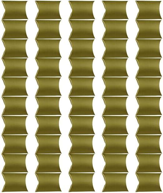 Monbedos - 50 Cajas de Dulces con Forma de Caramelos, Caja de ...