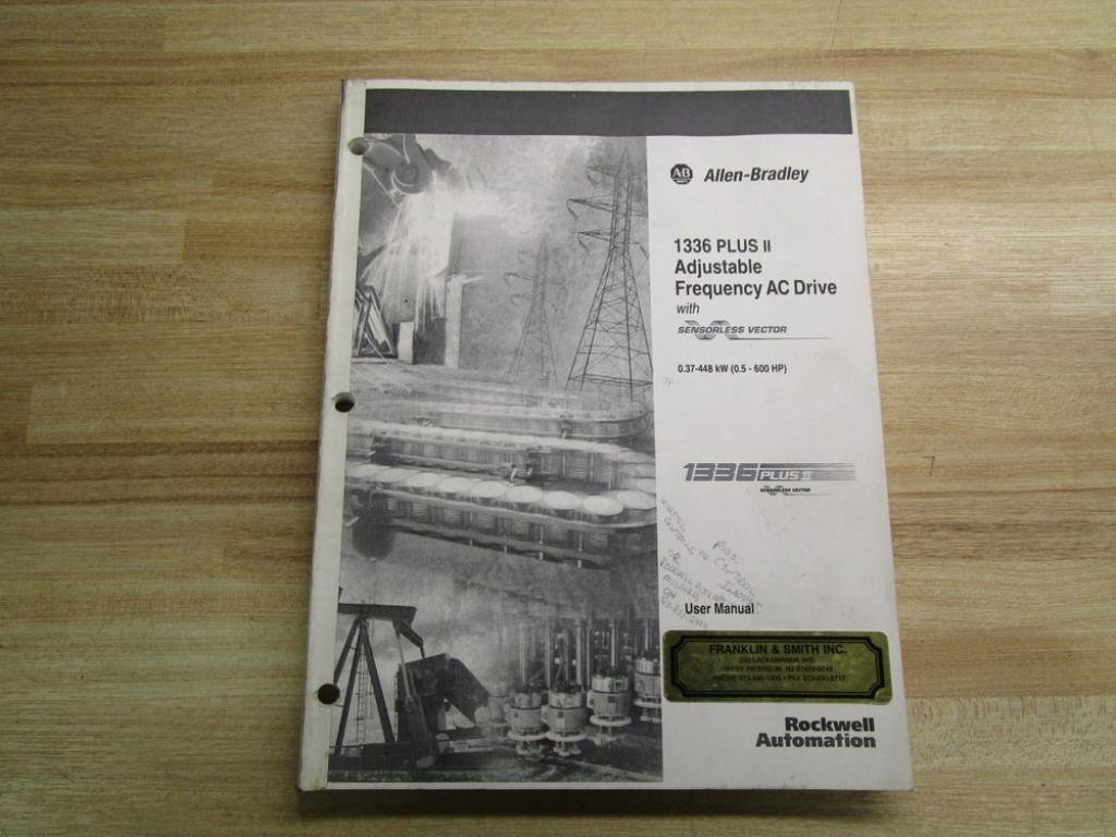 Allen Bradley 184898 (3) User Manual For 1336 PLUS II: Amazon.com:  Industrial & Scientific
