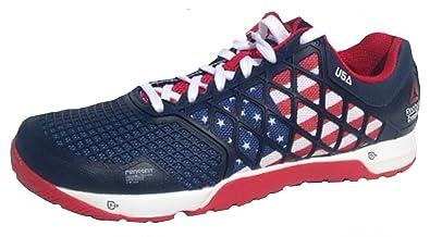 Reebok Womens Crossfit Nano 4.0 PAX trainers M48466 UK 2.5-7 Usa Navy red b32b45bff874