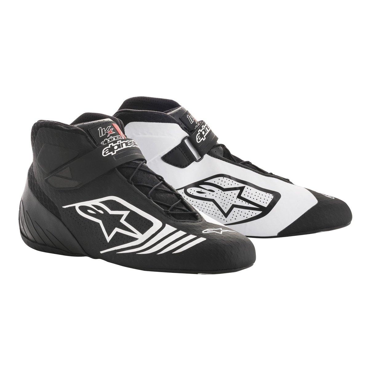 Size 8.5 Black//Red//White Alpinestars 2712118-132-8.5 Tech 1-KX Shoes