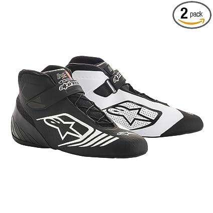 d83d0fd579a22 Alpinestars 2712118-12B-7 Tech 1-KX Shoes, Black/White, Size 7