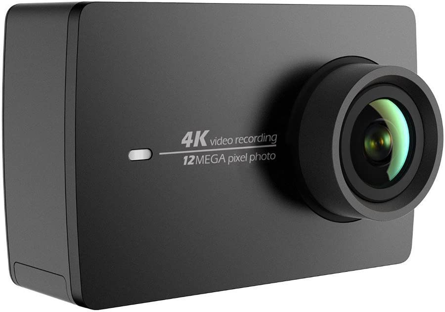 YI 4K Action Camera Videocamera Action Cam HD 4K / 30 fps, 1080p / 120 fps, Fotocamera Digitale 12 MP, Wifi, Nera