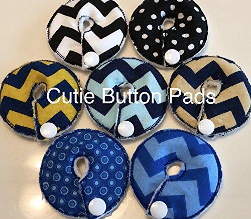 (Cutie Button Pads G/j Tube Pad 7 Pack ( Boys MIX 7))