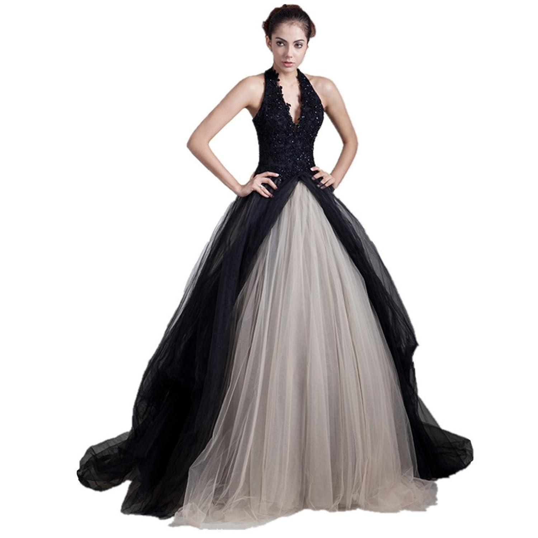 Jspoir Melodiz Women's Halter Satin Floor Length Dress
