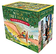 The #1 bestselling chapter book series of all time celebrates 25 years with new covers and a new, easy-to-use numbering system!This boxed set is the ultimate gift for any Magic Tree House fan. When Jack and Annie discover a mysterious tree ho...