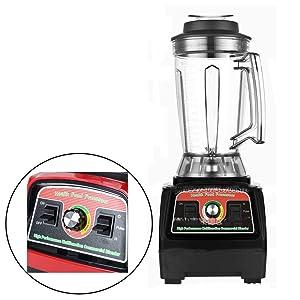 CONRAL 2800W Smoothie Maker, 4 in 1 Blender Machine with 3.9L Large Blending Cup, Multifunctional Ice Crusher Grinder Juicer Pusher, Stainless Steel Sharp Blades, Stirring & Blending