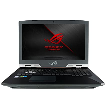 CUK ASUS ROG G703GI Gaming Laptop (Unlocked Intel Core i9-8950K, 32GB RAM,  3x1TB NVMe SSD RAID + 2TB SSHD, NVIDIA GeForce GTX 1080 8GB, 17 3