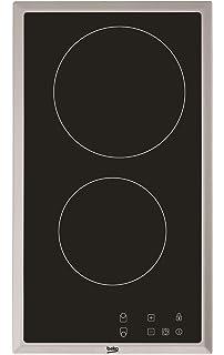 Domino placa vitrocerámica,Amzchef eléctrica vitrocerámica ...