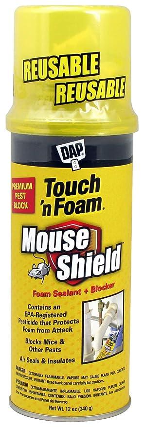 DAP Products Inc  4001012506 12OZ Mouse Foam Sealant, Cream