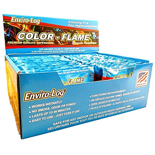 Enviro-Log Color-Flame 48-Pack