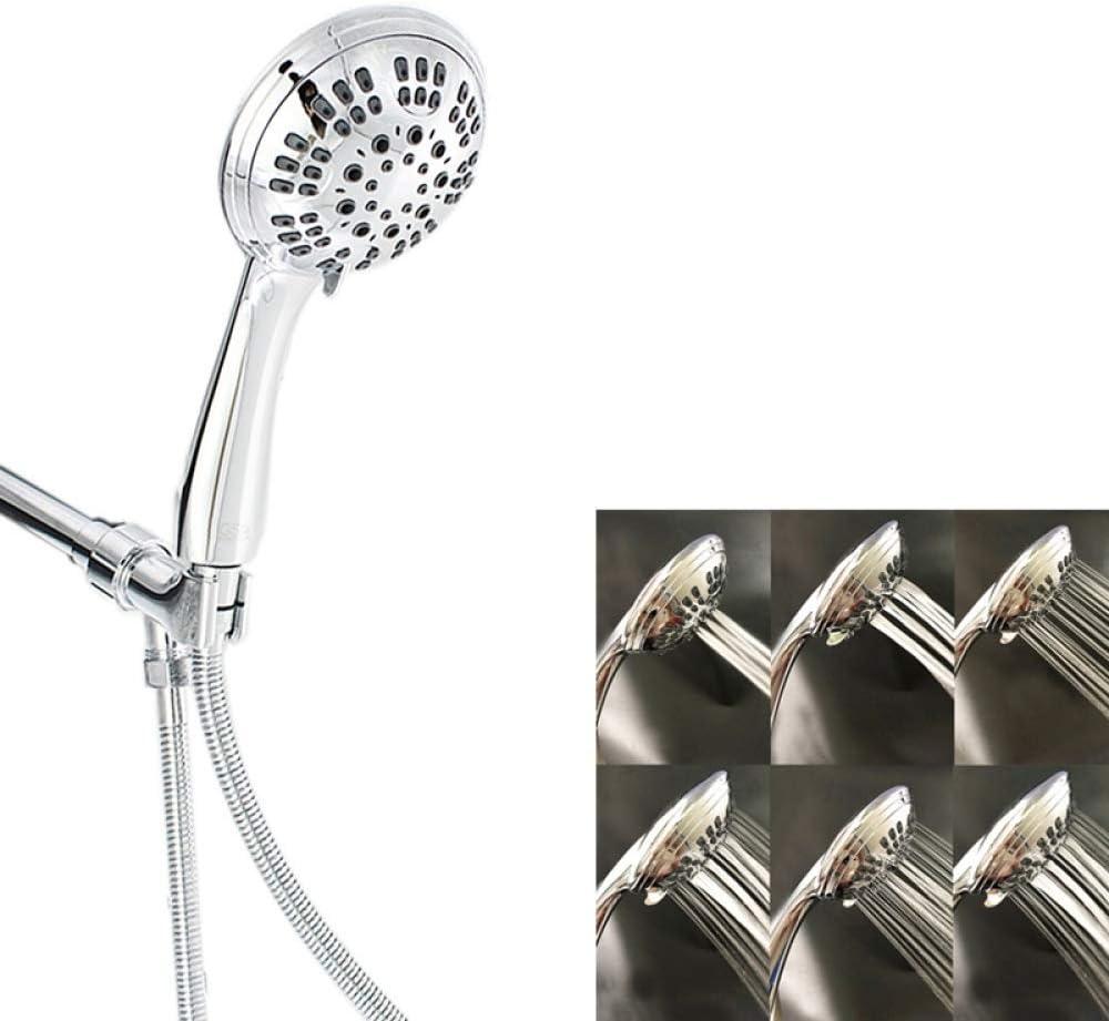 KangHS Alcachofa, Baño 6 Funciones Kit de ducha de mano ajustable ...