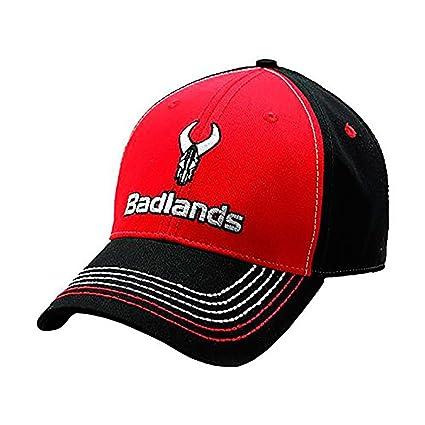 BADLANDS Desierto Rojo y Negro Logo Gorro Rojo/Negro blhat5