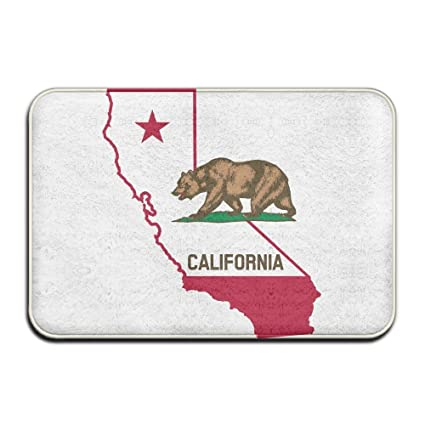 Map Of California Funny.Amazon Com Funnylife Lingliii Flag And Map Of California Funny