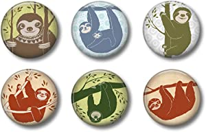 Sloth Magnets: Cute Locker Magnets for Boys and Girls (Sloth)