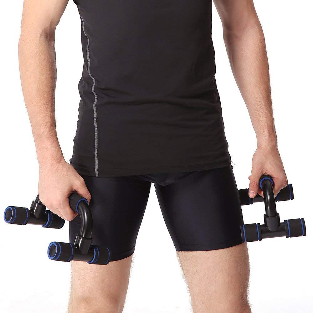 Una coppia di supporti per aste telescopiche I-Type Handles Fitness Enquipment Gym Home Attrezzi per la formazione muscolare spedizione gratuita