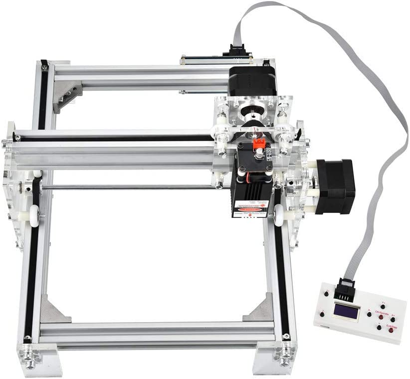 InLoveArts CNC Maschine CNC Laser Graviermaschine 17x20cm Arbeitsbereich Super einfach zu installieren und zu bedienen f/ür Anf/änger zum Schnitzen 2500MW