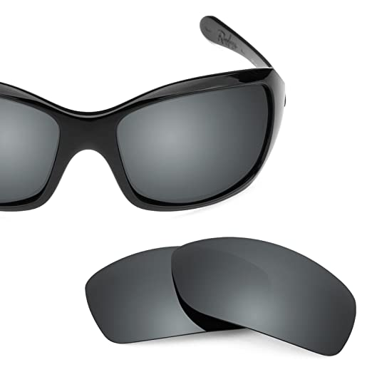 a1d1757947 Revant Polarized Replacement Lenses for Oakley Ravishing Elite Black Chrome  MirrorShield