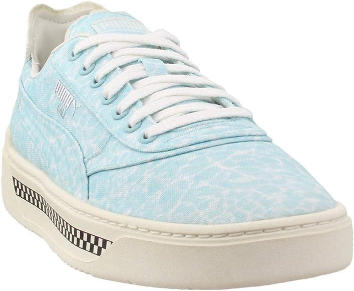 PUMA Mens Cali-0 Pool Lace Up Sneakers