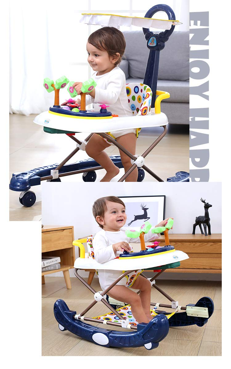 Amazon.com: Baby Trotteur plegable Baby Walker Scooters ...