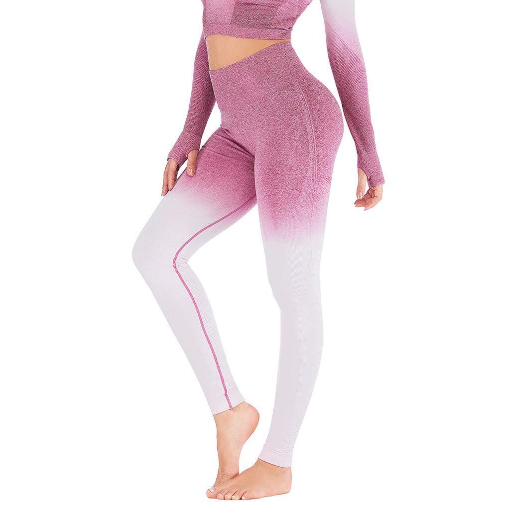 9661d5d40a416 AOJIAN Leggings for Women, Yoga Pants Tie Dye Slim Gym Trousers Jogger  Workout Running Sports Capri at Amazon Women's Clothing store: