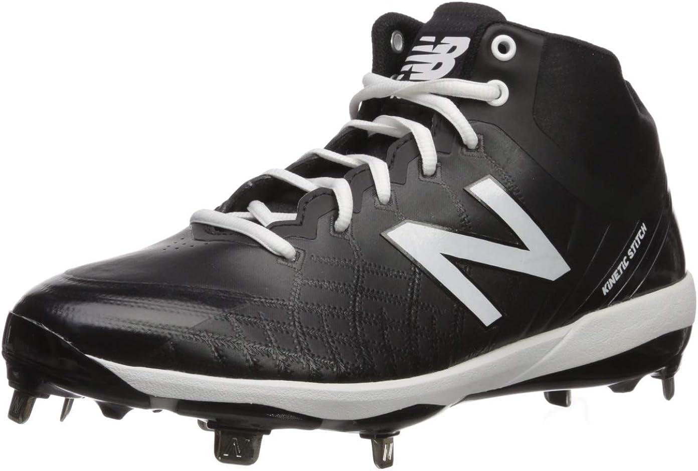 Image of Baseball & Softball New Balance Men's 4040v5 Metal Mid-Cut Baseball Shoe
