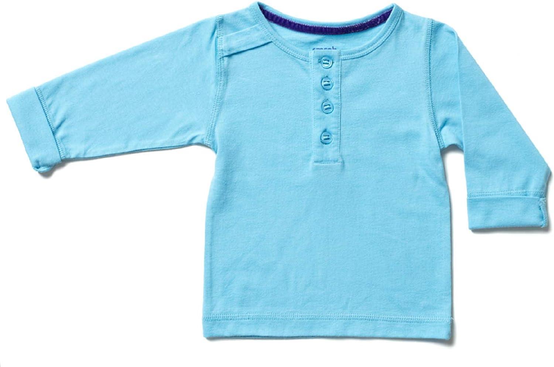 smoob sola Longsleeve Baby Langarmshirt f/ür Junge /& M/ädchen Unisex Babybekleidung f/ür Frischlinge 100/% Baumwolle mit Rundhalskragen