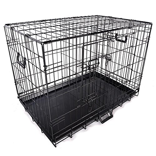 Yescom Doors Foldable Divider Kennel