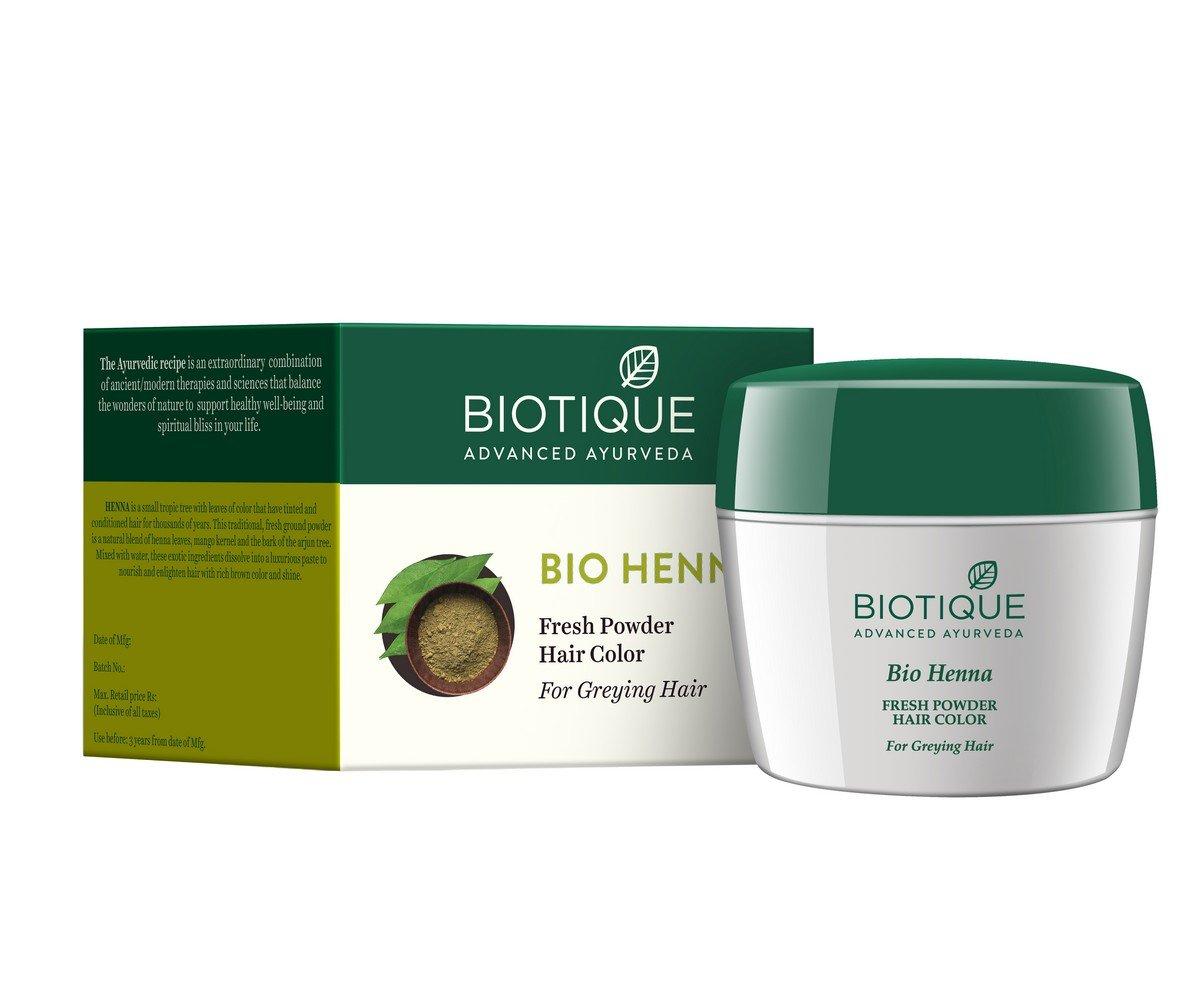 Buy Biotique Bio Heena Fresh Powder Hair Color 90g Online At Low