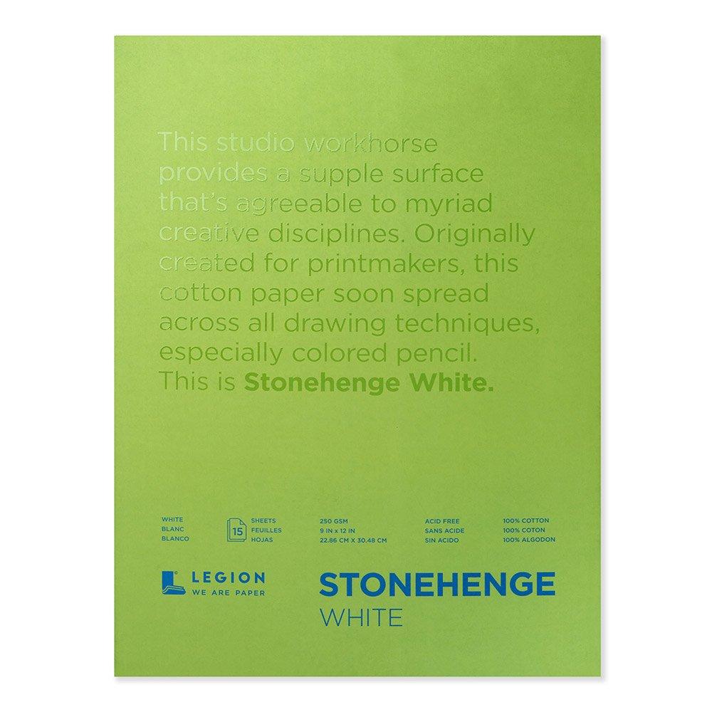 Hojas Legion Stonehenge 21x30cm X 15h Especial Lapices Colo