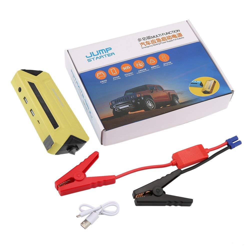 Yao Alimentatore di avviamento di Emergenza Portatile Car Booster 30000mAh Giallo di Emergenza