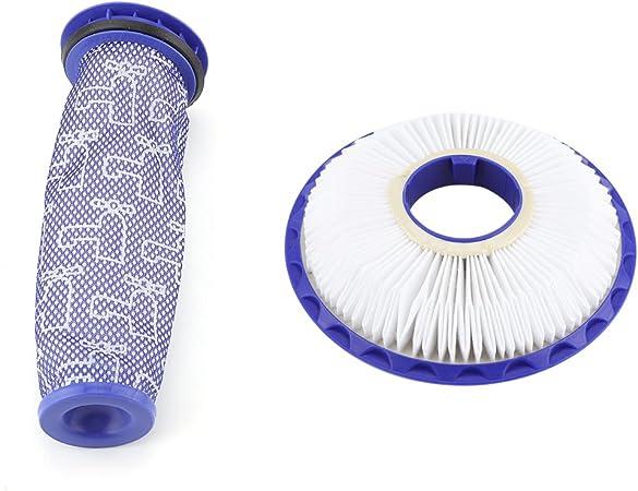 Filtro de filtro de aire para aspiradora de 17 x 20 cm, forma cilíndrica, sustituye a Shop VAC 17816 9-17816: Amazon.es: Hogar