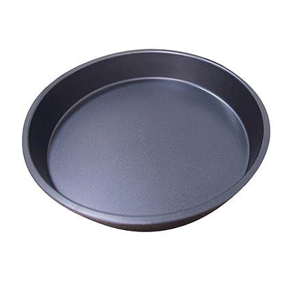 Dealglad® Aluminio Antiadherente para horno Pizza Pan Pizza bandeja para pasteles molde para el horno