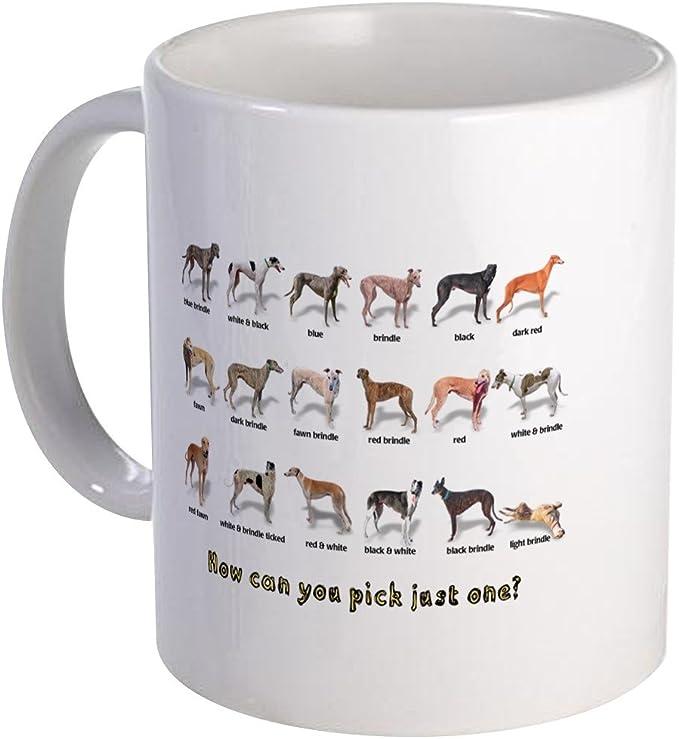 CafePress Greyhound Colors Mug 11 oz Ceramic Mug 113208983