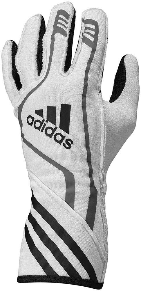 adidas RSR Gloves (S, WHITE)